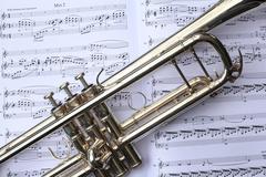 Trumpetti ja musiikki Kuvituskuvat
