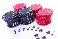Spade sequence Stock Photos