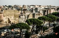 Stock Photo of view of rome, italy