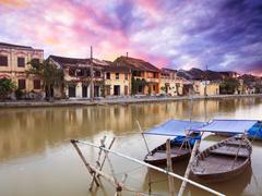 fisherman boats - stock photo