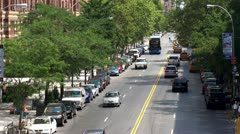 View of the West 23 Road Street. NYC, NY, USA. - stock footage