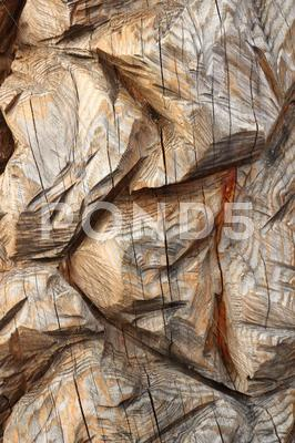 Stock photo of carved wood texture