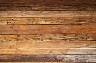 Wood on a cabin Stock Photos