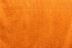 orange towel - stock photo