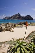 ilheu da cal island - stock photo