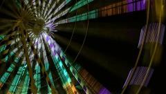 Ferris wheel - stock footage