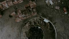Abandoned Building Delirium Stock Footage