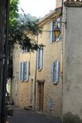 Streetview in the provence Stock Photos