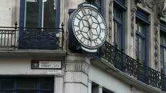 Fleet Street London Stock Footage