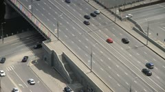 Highway aerials 2 Stock Footage