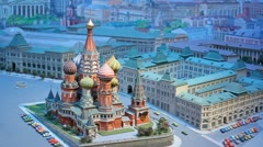 Layout Kremlin 3 Stock Footage
