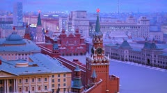 Layout Kremlin 2 Stock Footage