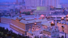 Layout Kremlin Stock Footage
