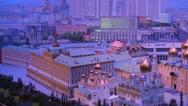 Layout Kremlin Stock Footage
