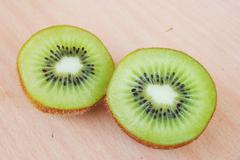 Fresh kiwis Stock Photos