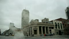 Slow Motion Intersection Boston Stock Footage