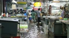 Amulet Market flood 9535 Stock Footage