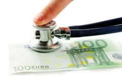 Euro evaluation Stock Photos