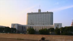 "Moscow ""White house"" Stock Footage"