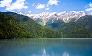 Stock Photo of mountain lake