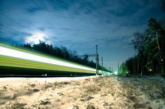 Polar express Stock Photos