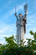motherland monument - stock photo