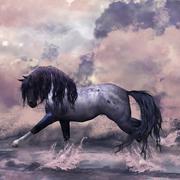 Fantasy Horse Illustration Stock Illustration