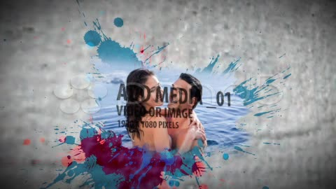 After Effects Project - Pond5 Paint Splatter Sequence 20632197
