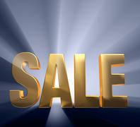 Stock Illustration of exciting sale