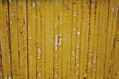 yellow chipped wood - stock photo