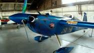 Edge 540 Aerobatic Airplane Stock Footage