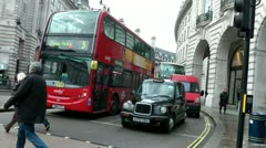 London transport - stock footage