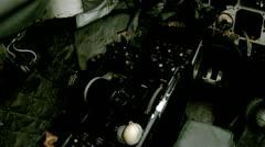 A-4 Skyhawk Cockpit Jet Fighter Stock Footage