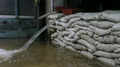 Amulet Market flood 9566 Stock Footage