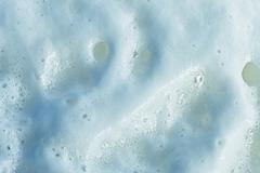 texture of the foam close-up - stock photo