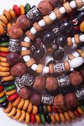 Ethnic esoteric beads Stock Photos