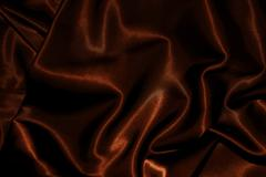 Stock Photo of texture of cloth chocolate brown satin silk