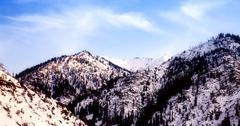 Vuorten lumen peitossa Kuvituskuvat