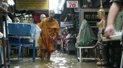 Amulet Market flood 9575 Stock Footage