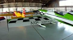 MX Aircraft Aerobatic Stock Footage