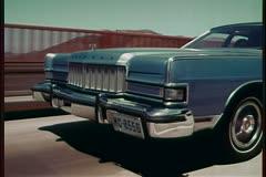 1974 Mercury Marquis Brohm Clip 1 Stock Footage