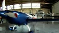 Extra Aerobatic Airplane Stock Footage