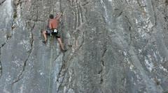 Climber Stock Footage