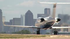 Gulfstream Taxi Out Stock Footage