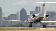 Stock Video Footage of Gulfstream Taxi Out
