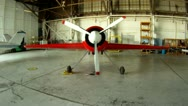 SU-31 Aerobatic Airplane Stock Footage