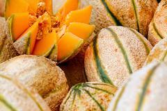 Honeydew melon Stock Photos
