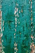 old weathered cracked board for design - stock photo