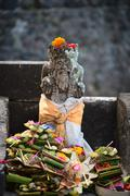 typical balinese statue - stock photo