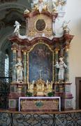 abbey of saint peter in the black forest - stock photo